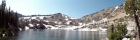 Lake 9167' panoramic view.