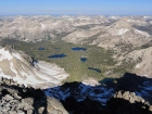 Flytrip Creek Basin from the summit of Snowyside Peak.