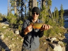 Large Cutthroat the Reed caught.