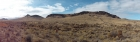 Panoramic view from the start of the hike.