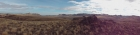 Panoramic view spanning from Shares Snout to Piute Butte.
