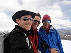 Dave, Splattski, & JohnF on the summit of Buttercup Mountain.