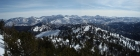Panoramic view of the northern White Clouds from the summit of Casino Peak.