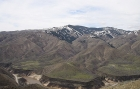 Looking towards the north side of Lucky Peak from the slopes of Cervidae Peak.