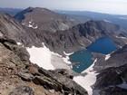 Cloud Peak summit view