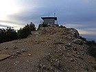Cone Peak lookout building.