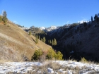 Early view of the Lambing Creek drainage.