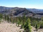 View toward Peak 8840'.