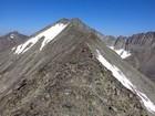 Crazy Peak southeast ridge