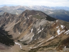 From the summit of Yellow Peak, you get a nice view of the connecting ridgeline to Junction Peak to the east.