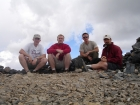 The four of us on the summit.