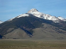 Bell Mountain in the Lemhi Range.
