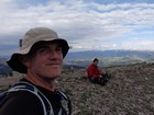 Tired but happy on the summit of Mount Glory.