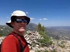 Me on the summit of Graham Peak.