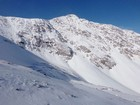 Impressive east face of Torreys Peak.