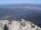 I'd always wondered what Stanley Lake would look like from the summit. Now I know…