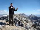 Me on the summit, my 9th and final Idaho 12er.