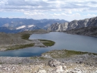 Goat Lake, highest lake in Idaho at 10438'.