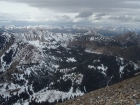 Summit view of the Sawtooths from Pole Creek Peak #3.