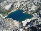 Arrowhead Lake from above.