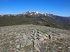 View of Quicksilver Mountain from