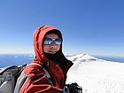 Mount Rainier summit shot, splattski style.