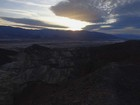 Sunset over the northern Panamint Range.