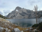 Mount Regan from Sawtooth Lake.
