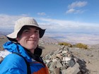 Me on the summit of Wildrose Peak, great views.