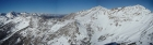 Summit pano to the northwest. Includes Glassford, Ryan, and Kent peaks.