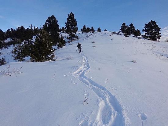 En route to Thorn Peak