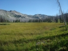 Open meadow, not far from the trailhead.