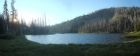 Hard Creek Lake pano.