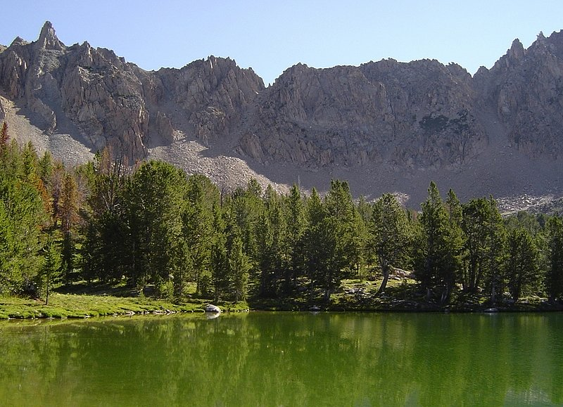 Photo Courtesy Idaho Alpine Zone: Born Lake