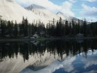 WCP-9 and David O Lee Peak reflecting in Ocalkens Lake. This short looks even better upside-down.