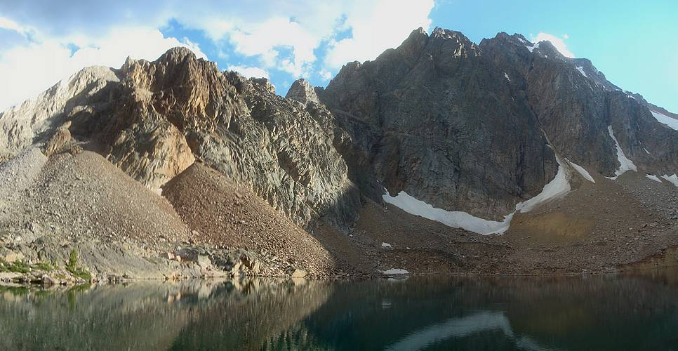 White Cloud Backpacking - Boulder Chain & Castle Lake