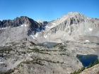 Tin Cup Lake basin from