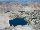 Tin Cup Lake basin from WCP-10.