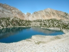 Tin Cup Lake and The Gunsight.