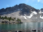 The north face of WCP-10 from Tin Cup Lake.
