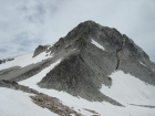 The northeast face of the Eagle Cap from about 9000' on the ridge.