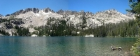 Alpine Lake panorama.