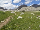 Lots of wildflowers as we near Titcomb Basin.