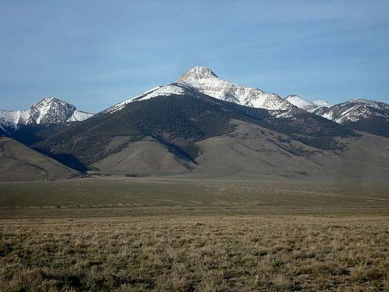 Bell Mountain from the west.