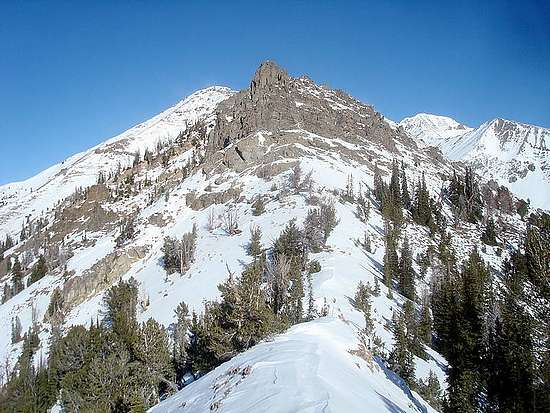 South Ridge of THE CONE.